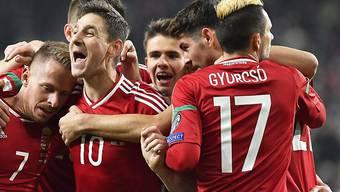 Ungarischer Jubel im Spiel gegen Andorra