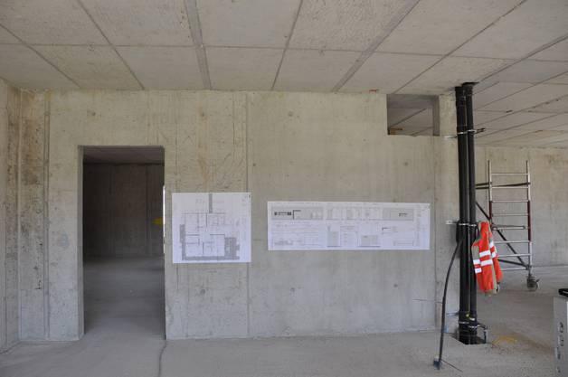 Die Schulhauserweiterung verfügt über ein Erdgeschoss und zwei Obergeschosse