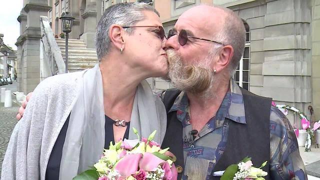 Rocker-Hochzeit von Heinz Mahler