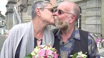 65. Geburtstag, offizielle Pensionierung und Hochzeit: Das Zofinger Stadtideal Heinz Mahler alias Gözi hat dreifachen Grund zum Feiern.
