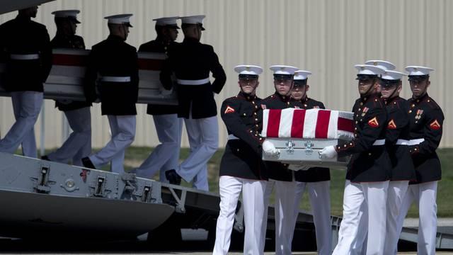 Trauerzeremonie bei Washington für die vier in Bengasi getöteten US-Diplomaten