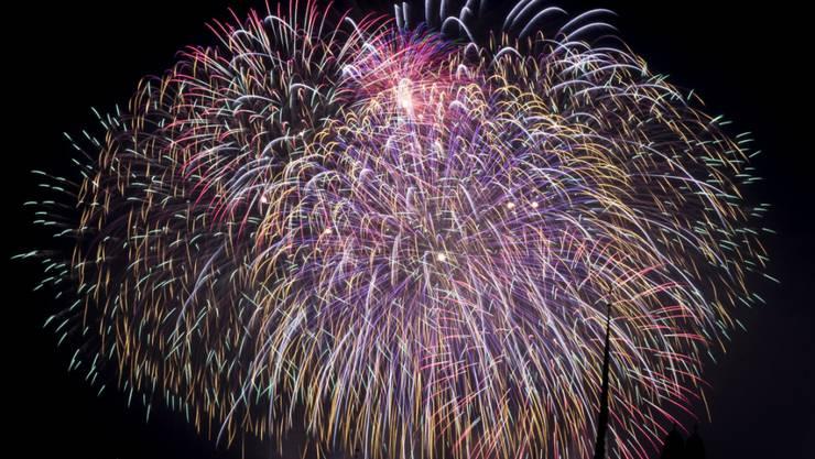Ein Gesuch für ein mitternächtliches Feuerwerk lehnte der Gemeinderat Hägendorf ab. (Symbolbild).