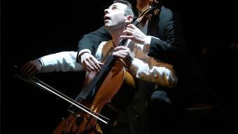 Alain Schudel (vorne) und Daniel Schaerer in «Cellolite».HO