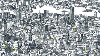 Mit dem Kulturstadtplan die Stadt Basel und Johann Peter Hebel entdecken.
