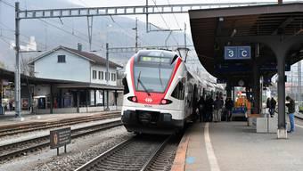 Eine der Linien, auf denen die Umfrage gemacht wurde: Regio Biel/Bienne - Solothurn - Olten.