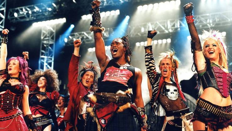 «We Will Rock You» in Basel. ho