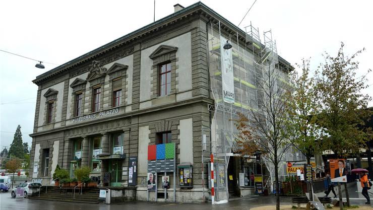Einer der wenigen Horte der Hochkultur im Baselbiet: Das Kulturhaus Palazzo in Liestal, wo derzeit Werke aus 85 Jahren Kunstkredit gezeigt werden.