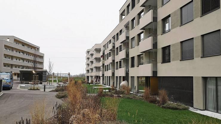 In der Überbauung Lindenblick in Staufen hat die Wohnbaugenossenschaft Lenzburg 39 Wohnungen realisiert.