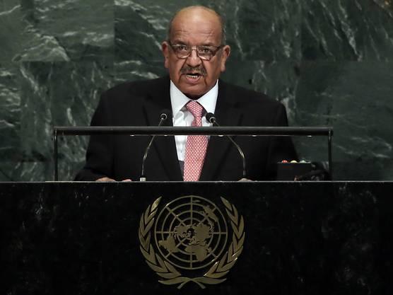 Algeriens Aussenminister Abdelkader Messahel übt unverblümt Kritik an Marokko. (Archivbild)
