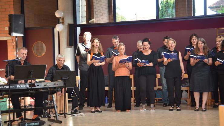 """The Spirits"" singen in Bellikon"