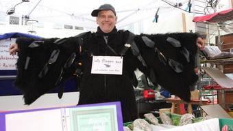 Der Solothurner Fasnachtsvogel John Hauenstein fliegt aus