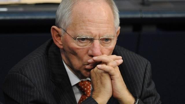 Soll von der HRE-Milliardenpanne gewusst haben: der deutsche Finanzminister Wolfgang Schäuble (Archiv)