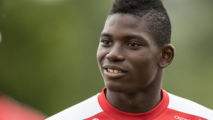 Breel Embolo im Dress der Nationalmannschaft