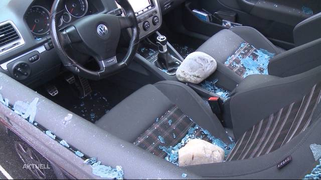 Autovandale von Aarau geschnappt