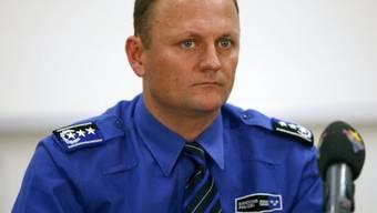 Der Aargauer Polizeikommandant Stephan Reinhardt (Archiv)