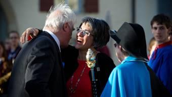 So feierte Lenzburg die neue Grossratspräsidentin Kathrin Scholl