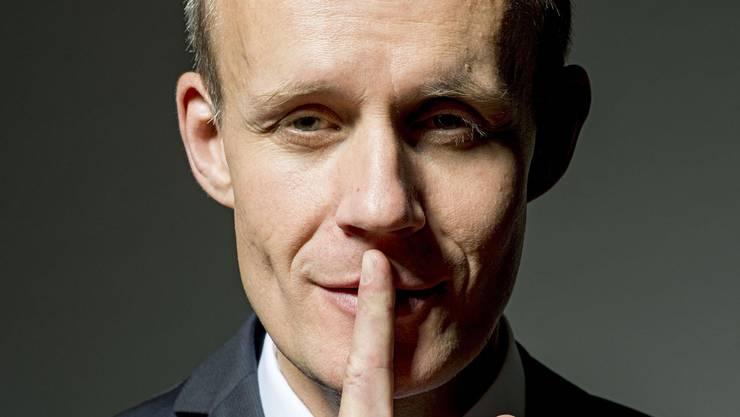 Max Uthoff gewinnt den Schweizer Kabarett-Preis 2019.