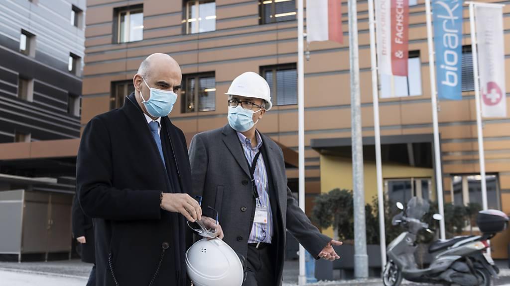 Berset: «Schweiz braucht strengere Massnahmen»