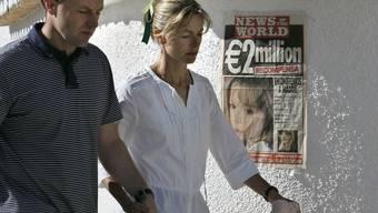 Maddies Eltern hatten 2007 eine beispiellose Medienkampagne gestartet, um auf den Fall aufmerksam zu machen (Archiv)