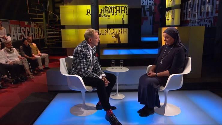 Schwester Benedikta bei Kurt Aeschbacher in der Sendung