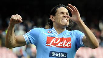 Edinson Cavani sicherte Napoli den Heimsieg