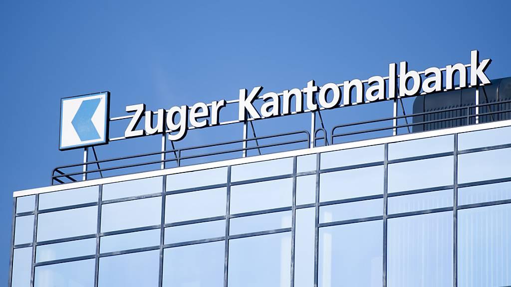 Zuger Kantonalbank hält Gewinn im ersten Halbjahr stabil