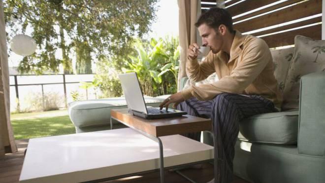Wurde bei der UBS offenbar überstrapaziert: Von zu Hause aus arbeiten. Foto: Thinkstock