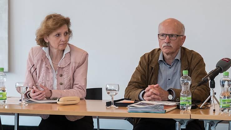 Béatrix von Sury d'Aspremont hat das Gemeindepräsidium interimistisch von Urs Hintermann übernommen.