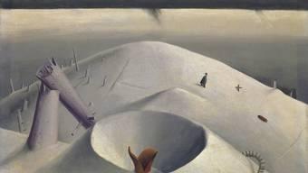 Niklaus Stoecklin: «Der Hartmannsweilerkopf», 1919, 51,5×60 cm; Öl auf Leinwand.