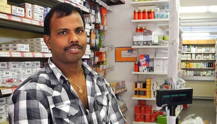 Sieht sich als Opfer der Verkehrsprobleme: Cradyan Maylvaganam.