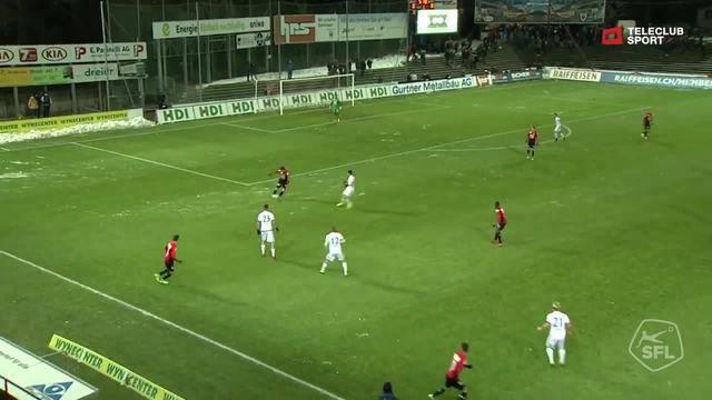 Challenge League, 2017/2018, 17. Runde, FC Aarau - Chiasso, 1:0 Alessandro Ciarrocchi