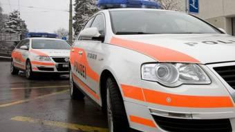 Polizeiautos in St. Gallen (Archiv)