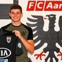 FCA-Goalietalent Joel Bonorand (17)  hat bis 2022 unterschrieben