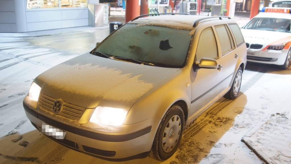 Mehrere Eisplatten bei Fahrt verloren