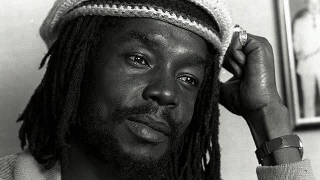 Geehrt: Der 1987 getötete Reggae-Musiker Peter Tosh (Archiv)