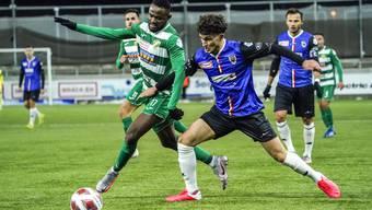 Binjamin Hasani zeigte gegen Kriens seine bisher beste Leistung im FCA-Dress.