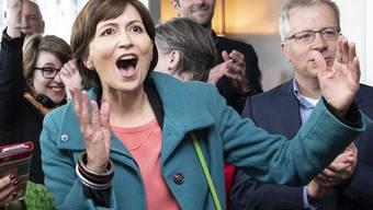 Grüner Triumph bei den Parlaments-, nicht aber bei den Bundesratswahlen: Parteichefin Regula Rytz.