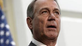 Der Präsident des Repräsentantenhauses, John Boehner (Archiv)