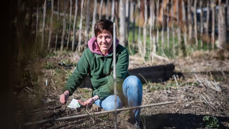 Nicole Egloff ist seit Jahren passionierte Gärtnerin.