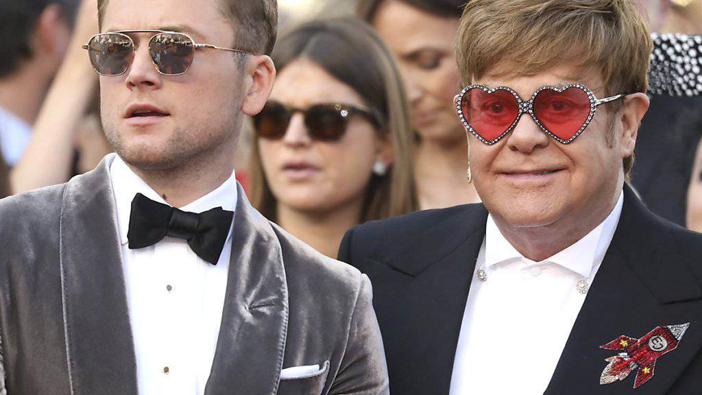 Emotionale Premiere mit Sir Elton John in Cannes