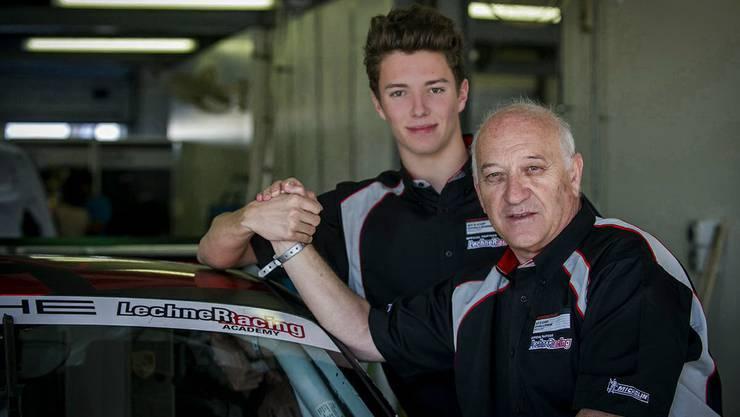 Baselbieter Jeffrey Schmidt startet weiterhin für das Lechner Racing Team.