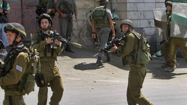 Israelische Soldaten im Einsatz (Symbolbild)