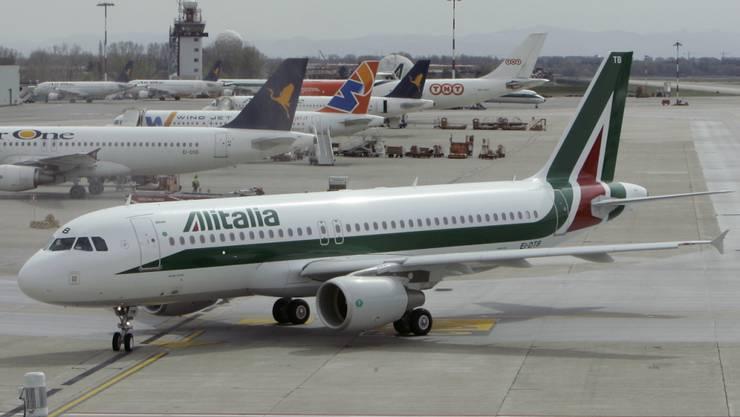 Seit 2017 insolvent: die italienische Fluggesellschaft Alitalia. (Archivbild)