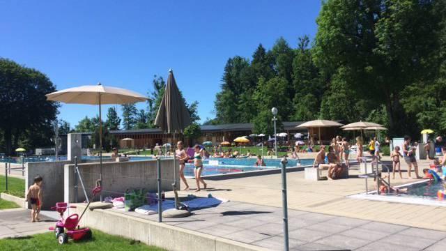 Appenzeller Badi Schwimmbad Forren