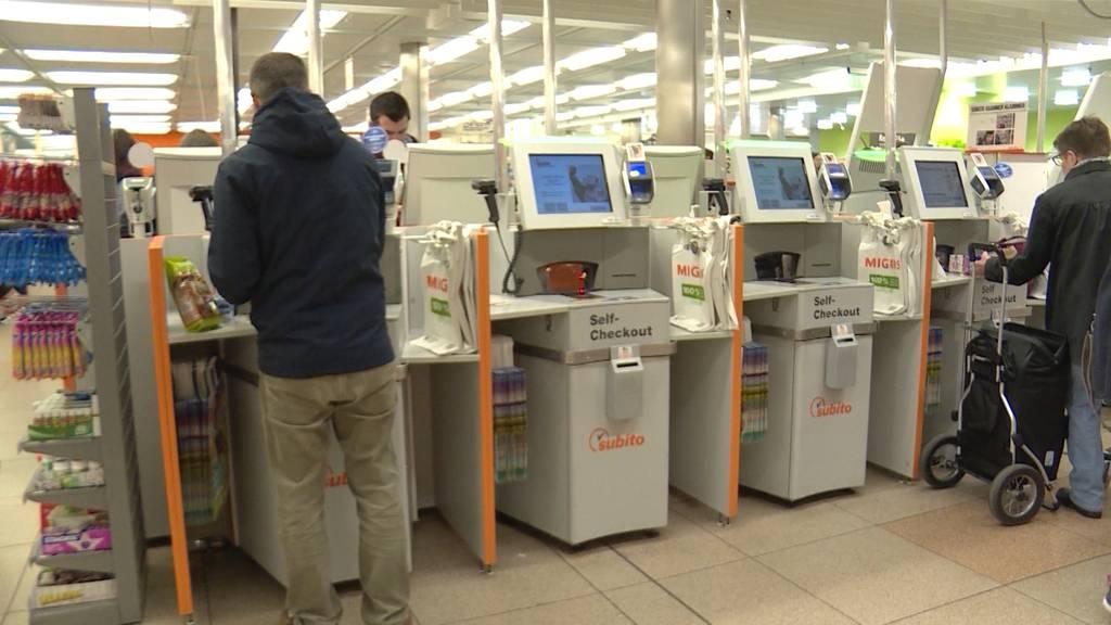 23 % mehr Ladendiebstähle in Bern wegen Self-Scanning