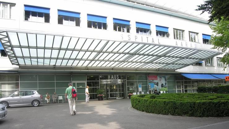 Das Kantonsspital Aarau. (Archivbild)