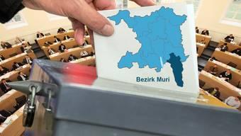 Wahlen Bezirk Muri