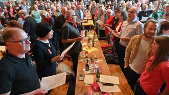 1. Mai-Kundgebung und Fest in Olten 2019