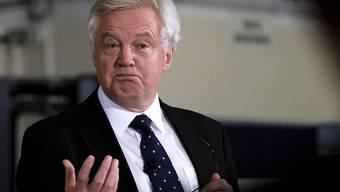Der britische Brexit-Minister David Davis ist nicht zufrieden mit der Sprache der EU.