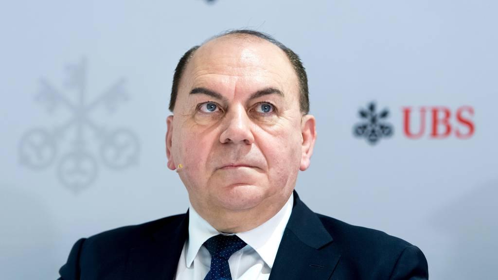 UBS-Präsident Weber: In der Pandemie gibt es keinen Stellenabbau